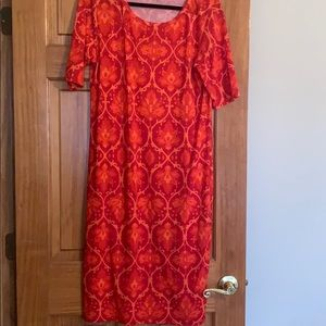 Lularoe Julia dress xl